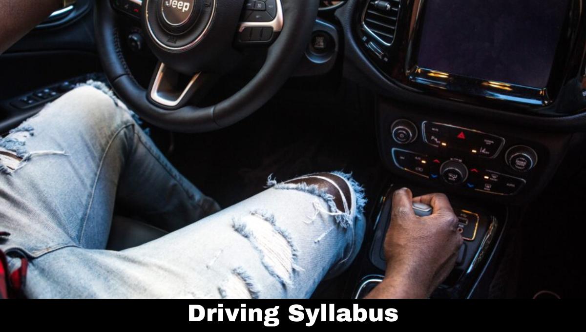 Driving Syllabus